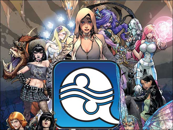 cover to aspen universe sourcebook from Aspen Comics