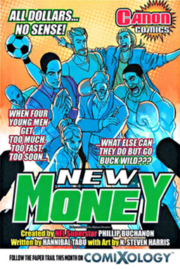 the cover for New Money #1