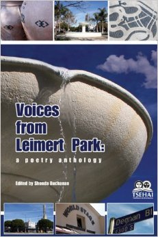 the cover for Voices from Leimert Park