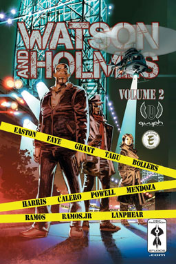 the cover for Watson and Holmes Vol. 2